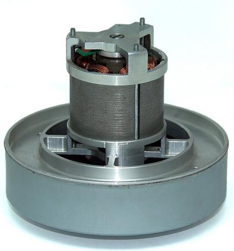 NdFeB Magnetic Tile on Brushless Motor